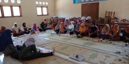 Pertemuan Tanggal 27 Kader PKK Desa Muntuk