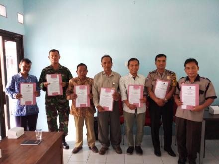 Rapat Pleno DPTHP-1 tingkat Kecamatan