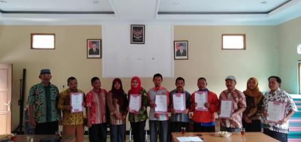 Rapat Pleno Perbaikan DPTHP-1 Tingkat desa