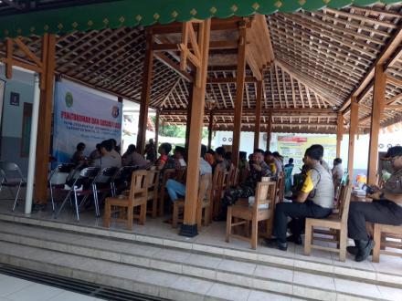 Pengukuhan dan Sosialisasi FKPM Desa Muntuk