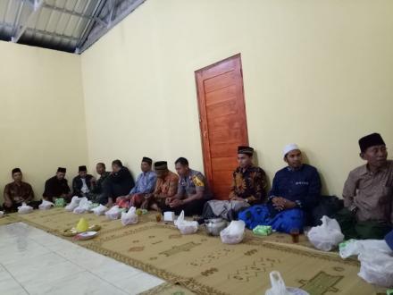 Doa Bersama Pembukaan Gedung Bumdes Desa Mart Desa Muntuk