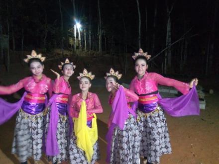 Malam puncak seni kebudayaan Desa Muntuk