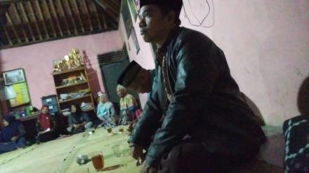 Sosialisasi tanah OO di Dusun Gunung Cilik